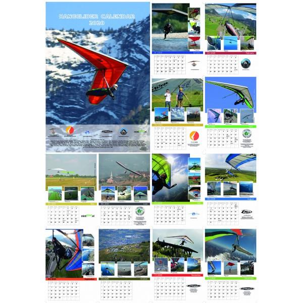 Hangglider Calendar 2020